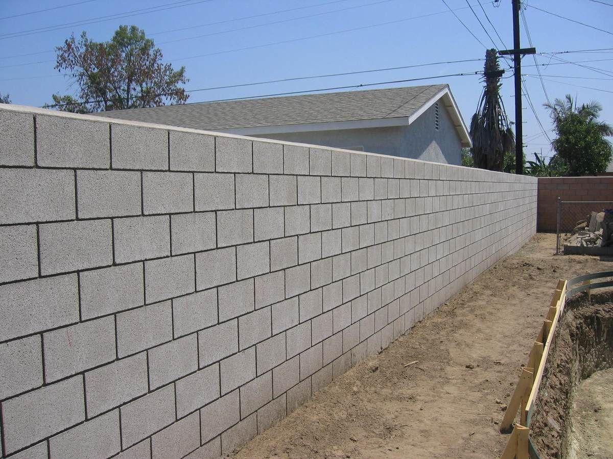 El m s poderoso muro bloques hormigon en 2019 muro de - Cemento decorativo para paredes ...