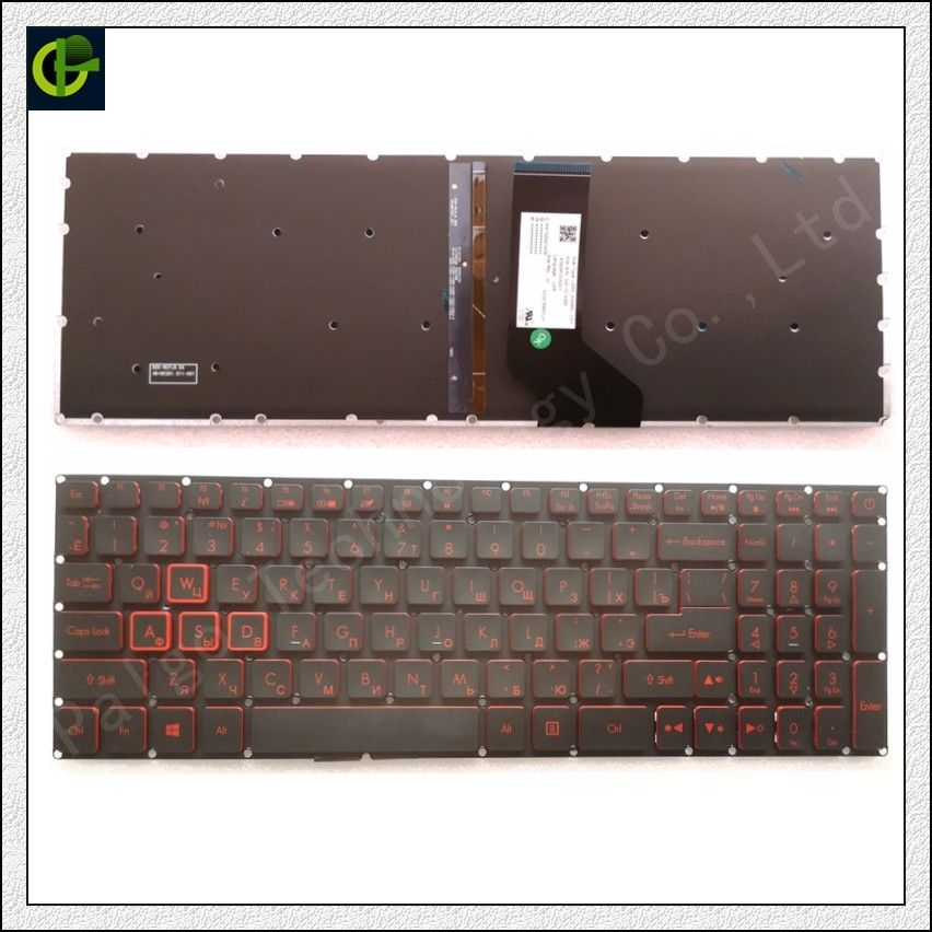 Limited Chance For Russian Backlit Keyboard For Acer Nitro 5 An515