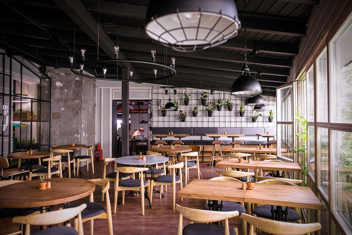 Marketplace Restaurant Moscow On Behance