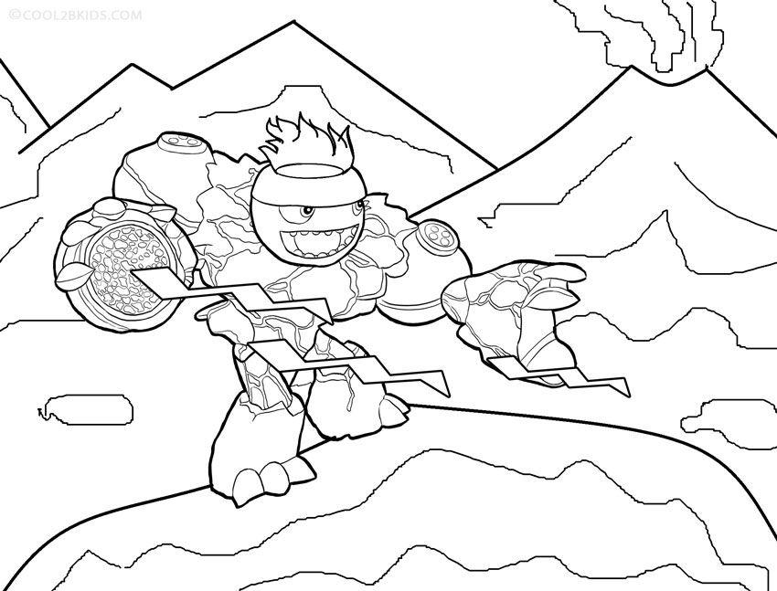 printable skylander giants coloring pages for kids cool2bkids