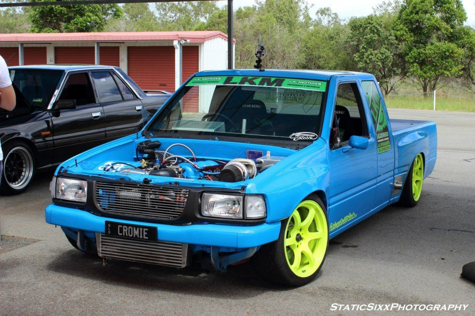 Turbo LS1 transplanted into Holden Rodeo (Isuzu Pickup) making