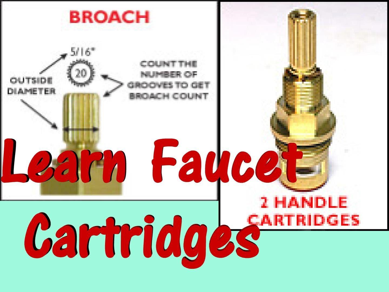 Repair Faucet 1 4 Turn Ceramic Cartridge Drip With Images Faucet Parts