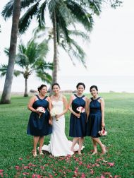 Oceanfront Unplugged Destination Wedding in Maui - Style Me Pretty