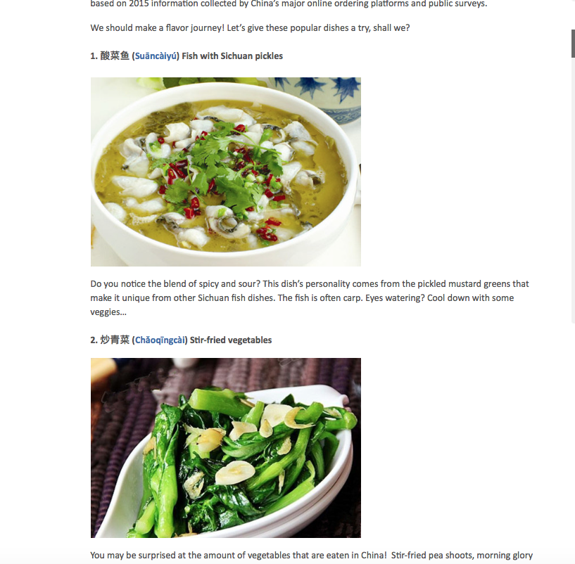 What does chinese food look like in your hometown chinese food in chinese language forumfinder Images
