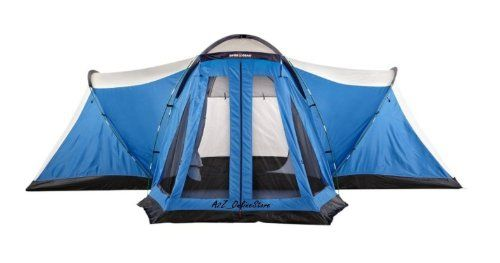 SwissGear 10 Person Four Room Porch Tent Swiss Gear //.amazon  sc 1 st  Pinterest & SwissGear 10 Person Four Room Porch Tent Swiss Gear http://www ...