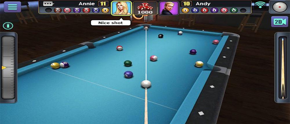 3d Pool Ball 2 0 0 1 Mod Apk Download 3d Pool Pool Ball Pool Games