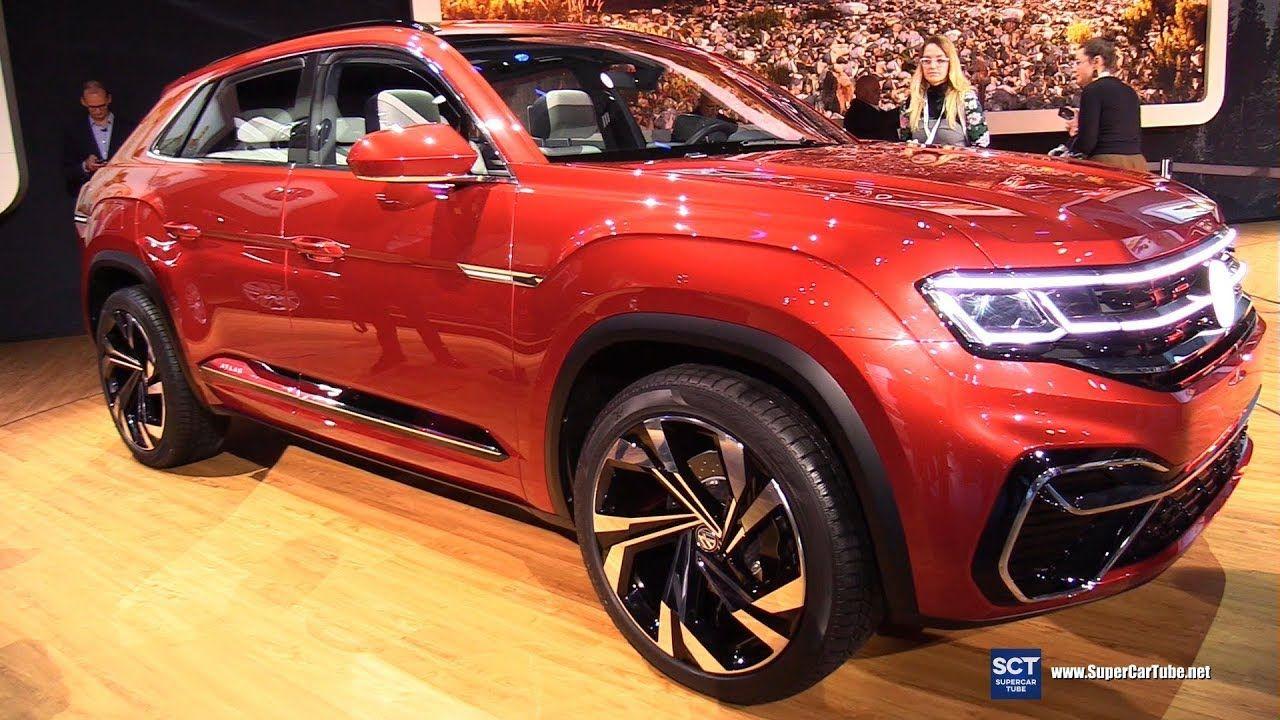 Volkswagen Atlas Sport Cross Concept Exterior Interior