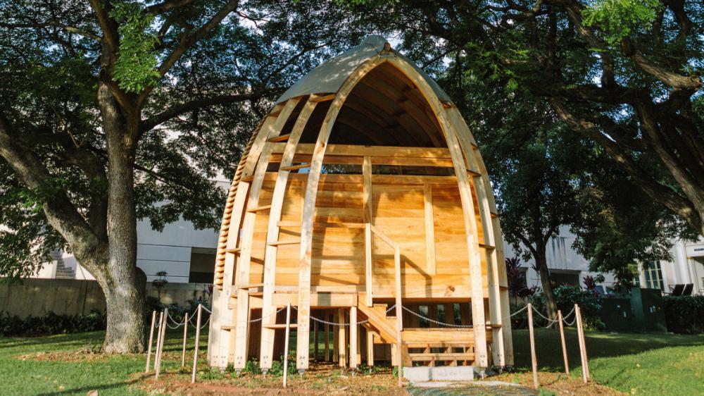 University of Hawaii architecture graduate Joey Valenti ...
