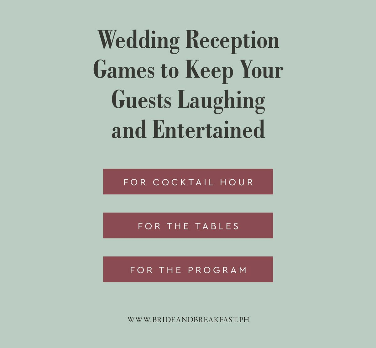 Wedding Guest Entertainment Ideas: Wedding Reception Games To Keep Your Guests Laughing And