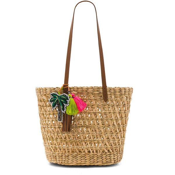 Star Mela Jola Basket (2.195 ARS) ❤ liked on Polyvore featuring bags, handbags, straw handbags, sequin handbags, woven handbags, straw purse and man bag