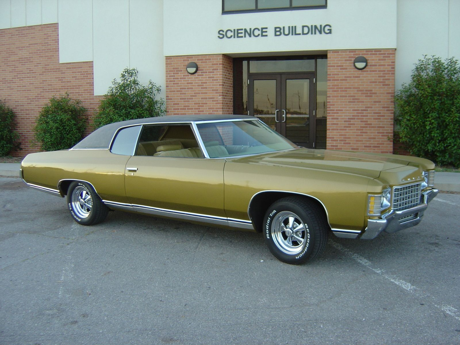 1971 Chevrolet Impala My First Car Mine Was Cotton Wood