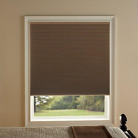 Kirsch Honeycomb Room Darkening Window Shades in Toffee | Design ...