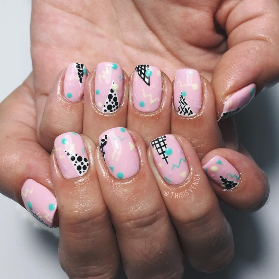 Thisisvenice Gel Nail Art Fancy Nails Manicure