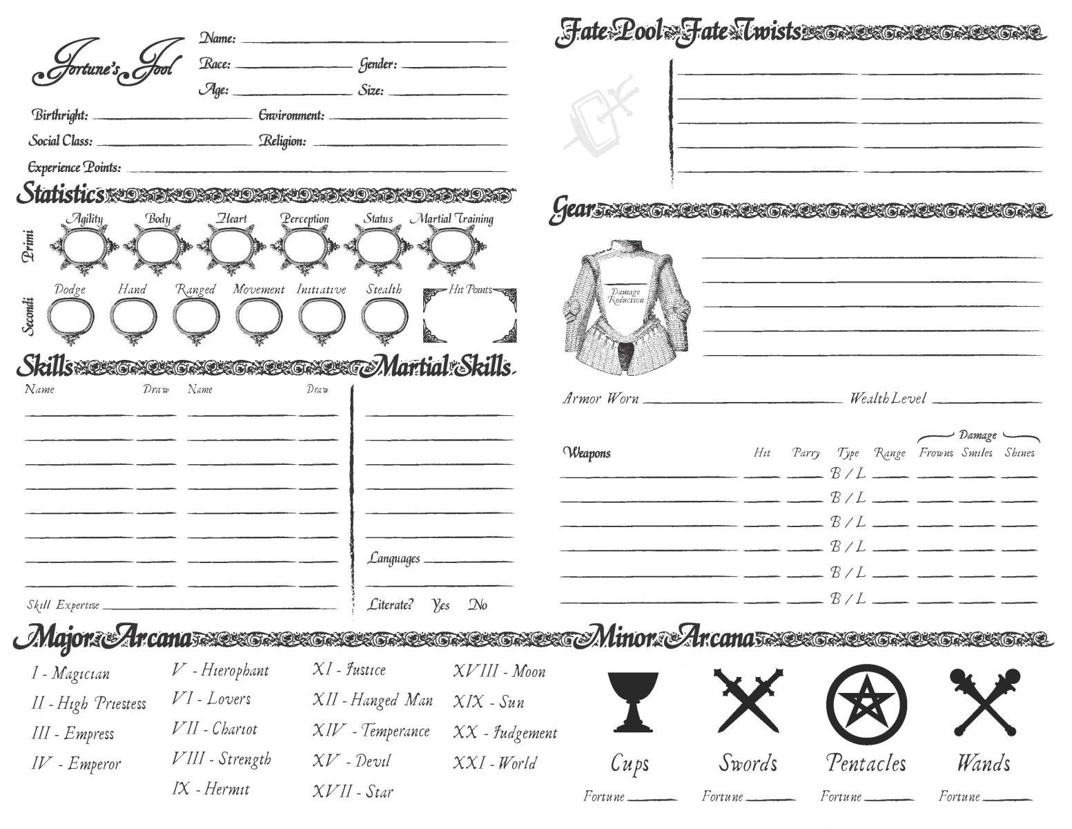 how to create a character sheet in roll20