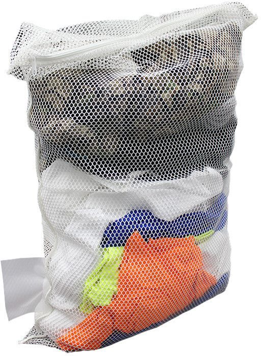 Cotton Plus Natural Mesh Laundry Bags With Zipper Case Of 60
