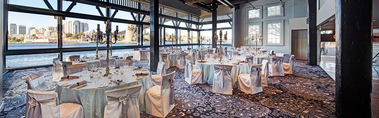 Waterfront Wedding Reception Venues Sydney Pier One Sydney Harbour