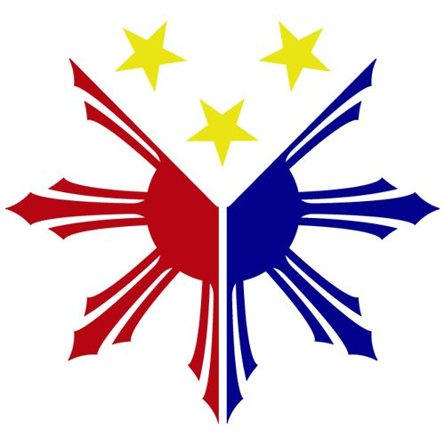 Non-Copyrighted Drawings | Philippine Flag Logo - ClipArt