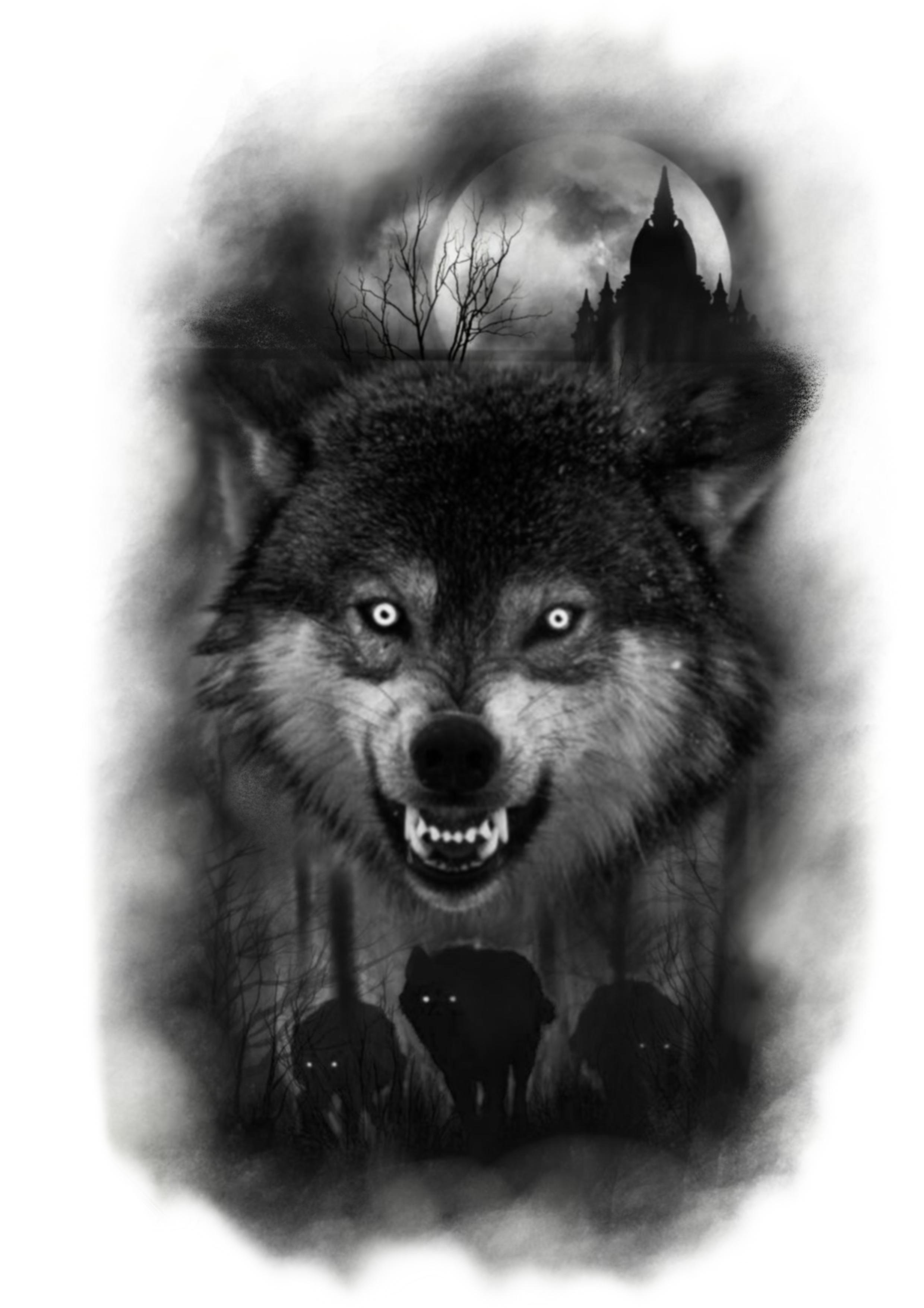 Pin De Henry En Wolf Tatuajes De Lobos Tatuaje De Lobo Y Luna Diseno Del Tatuaje De Lobo