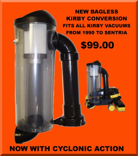 Keeler Bagless Conversion System To Fit Kirby Vacuums