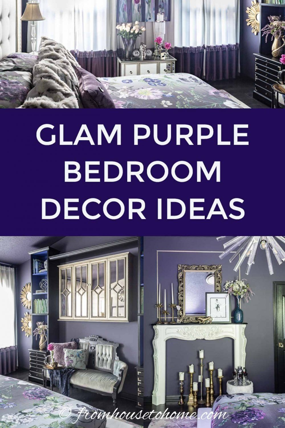 Purple Bedroom Decorating Ideas Create A Stunning Master Bedroom Purple Bedroom Decor Purple Master Bedroom Purple Bedrooms