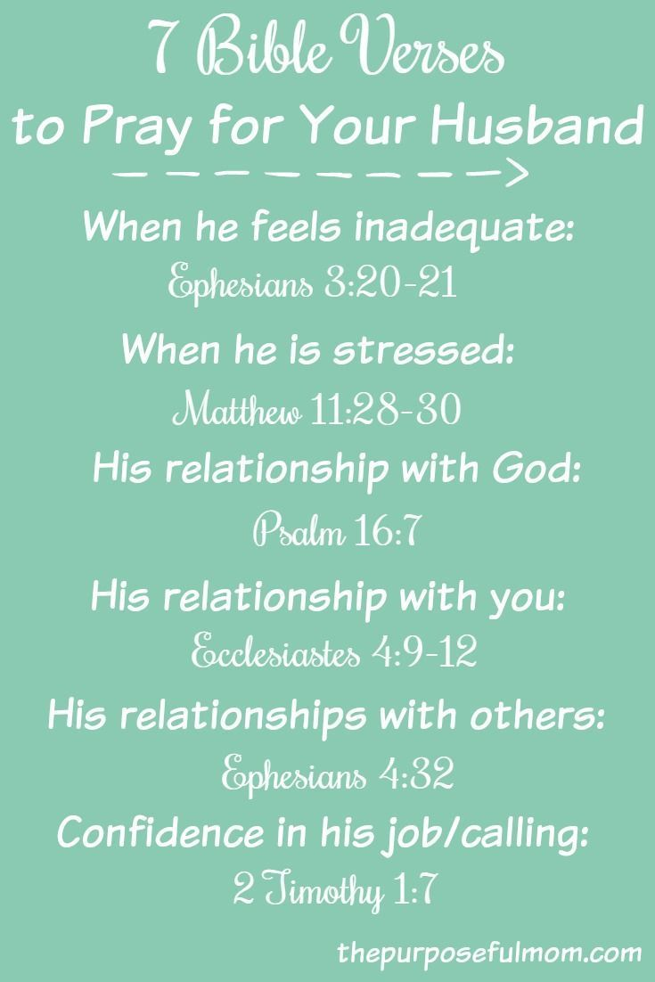 Bible Verses About Man Loving His Wife