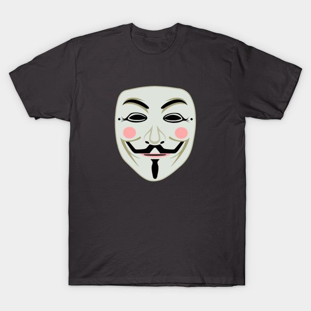 This 'Anonymous Mask T-Shirt' is made by 100% cotton with solid colors, heather colors are cotton blend. Range of colors available, with the option to print on front or back. Sizes from S-3XL, suitable for men and women. anonymousswag,anonymous hack,v for vendetta t,anonymous movie,anonymous mask,anonymous clothes,v for vendetta,anonymous hackers,anonymous team,vendetta,anonymoususa,anonymous legion