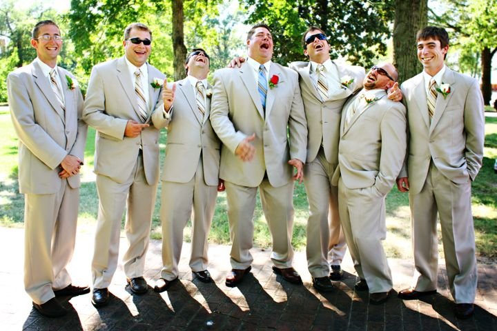 This is 100% the personalities of my groomsmen