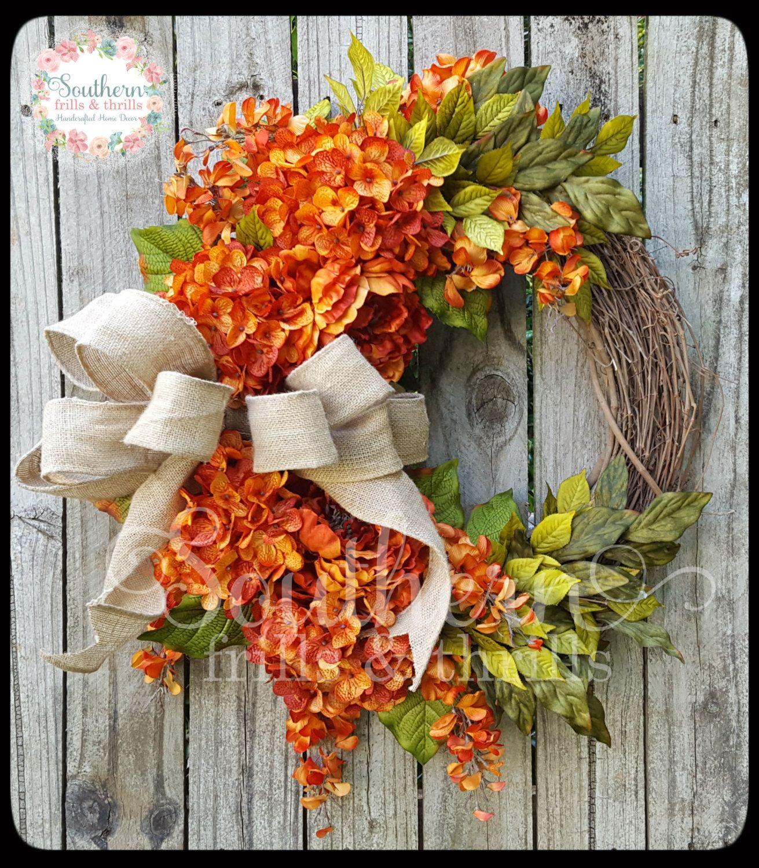 Floral Grapevine Wreath, Grapevine Wreath, Floral Wreath, Hydrangea Wreath, Peony Wreath, Year Round Wreath, Outdoor Wreath, Grapevine by SouthernThrills on Etsy