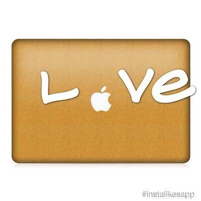 MacBook Pro & Air Gold Brushed Skin $49.99 GET 20%OFF Code:iCS20%
