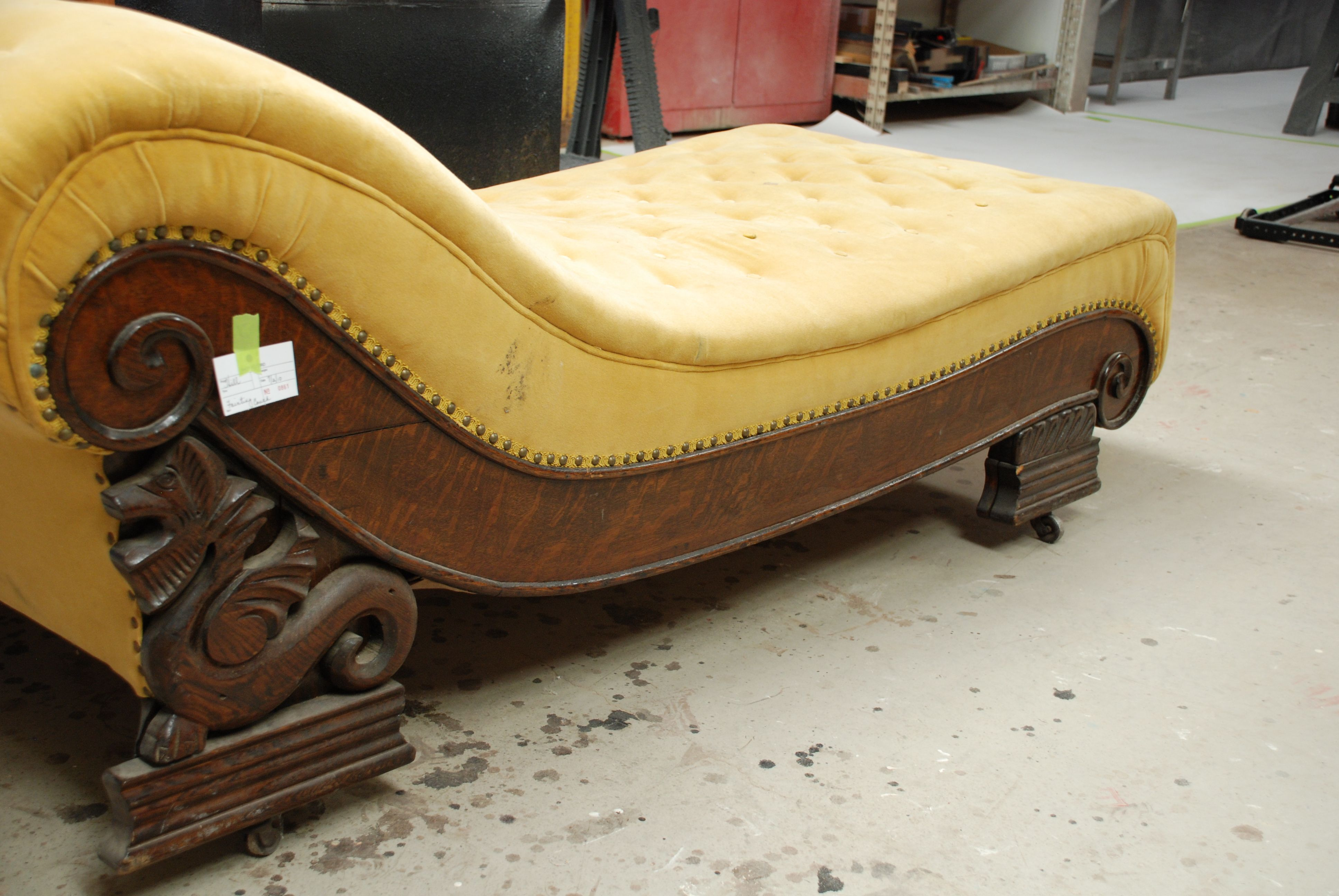 I definitely need and want an antique fainting couch. : fainting chaise - Sectionals, Sofas & Couches