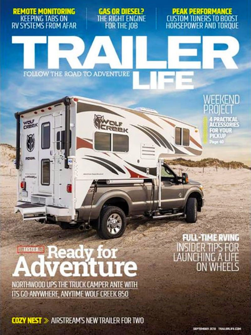 2018 Wolf Creek Review Featured In Trailer Life Magazine Trailer