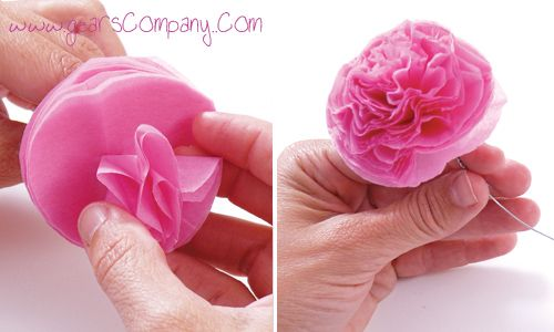 sencilla idea para elaborar esta hermosa flor en papel