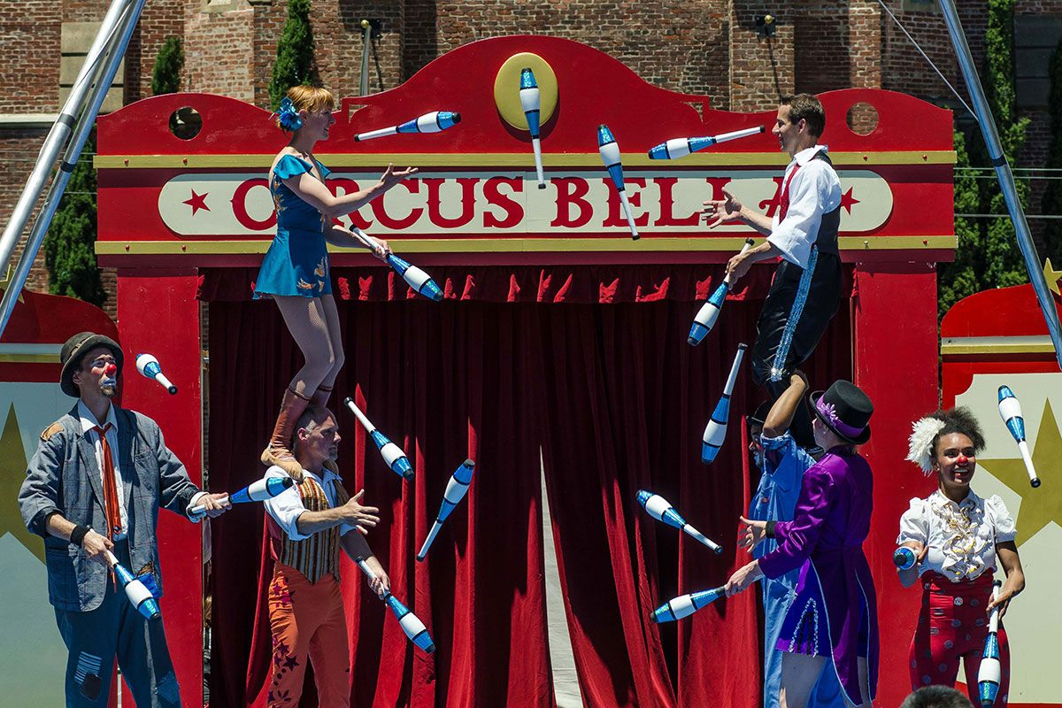 Circus Arts Featured Circus Disciplines