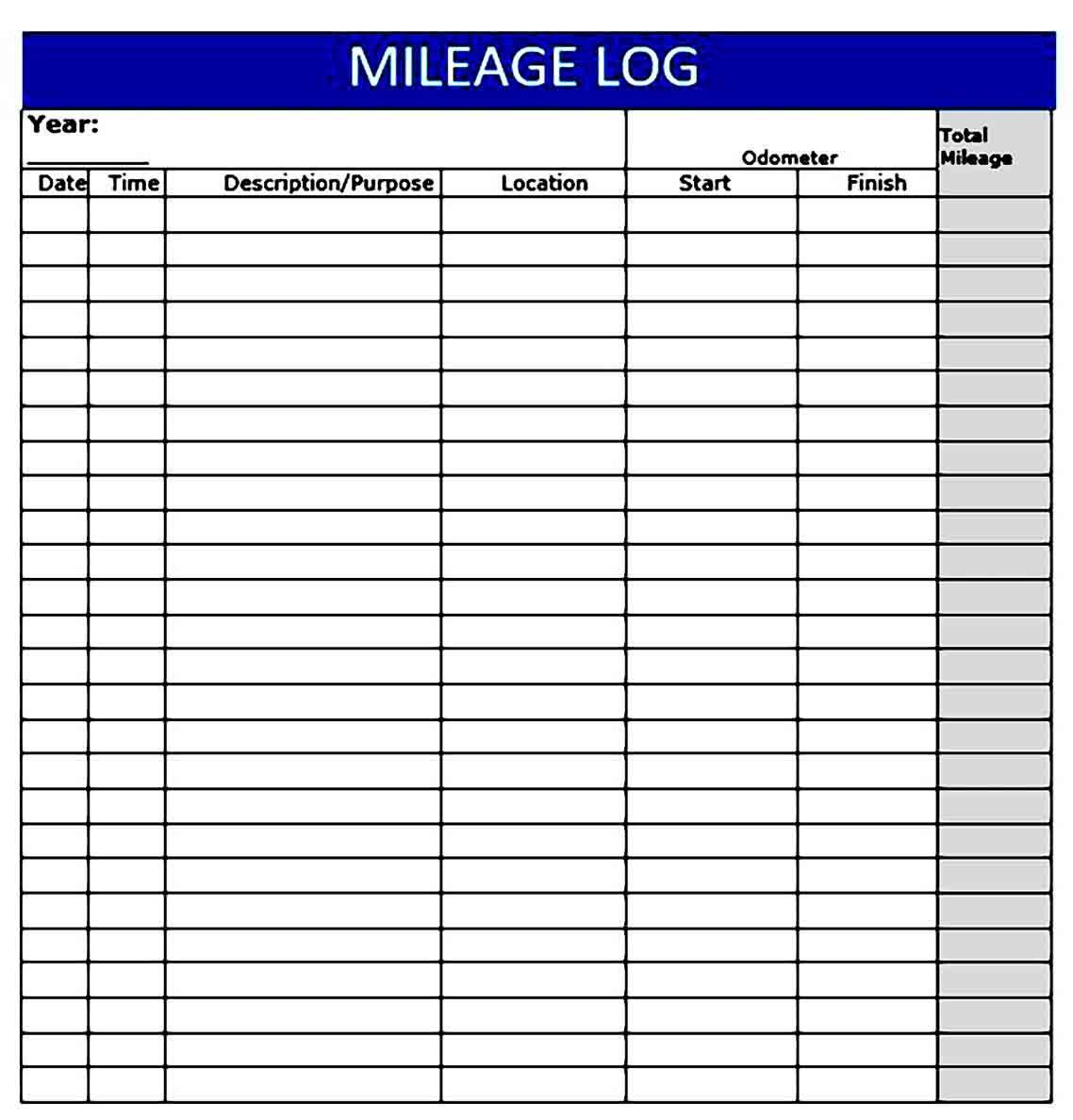 Mileage Reimbursement Form Template Lovely 13 Free Mileage Reimbursement Form Template Templates Lesson Plan Templates Survey Template