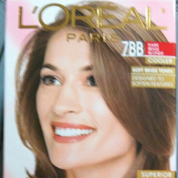 L'Oreal Paris 7bb Dark Beige Blonde Cooler Excelle New L'Oreal Paris 7bb Dark Beige Blonde Cooler Excellence Creme Hair Color loreal Other