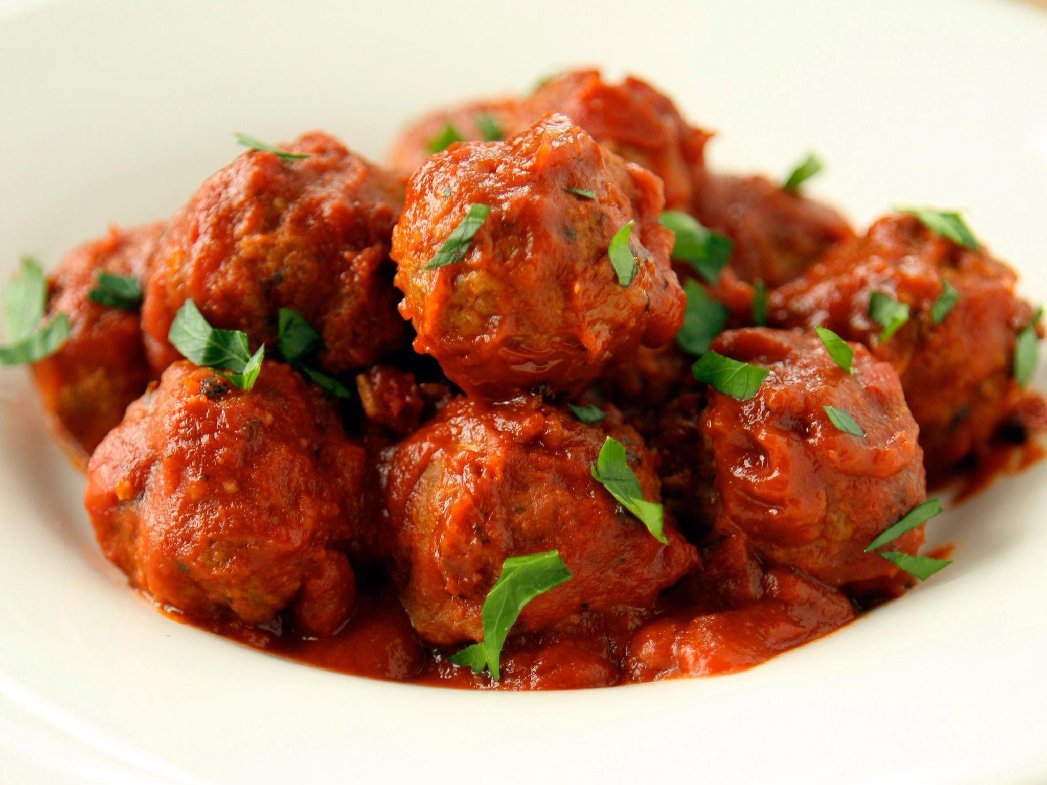 Recipe Cocktail Meatballs In Tomato Sauce Recipe In 2020 Pasta Dishes Recipes Tomato Sauce