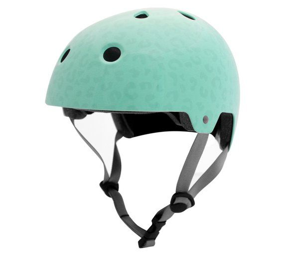 Buy Kingston Print 55 58cm Ladies Bike Helmet Aqua At Argos Co