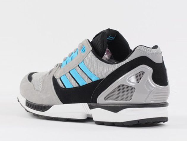 low priced 8e37b 784a8 adidas Originals ZX 8000 – Aluminium   Samba Blue White Vapour