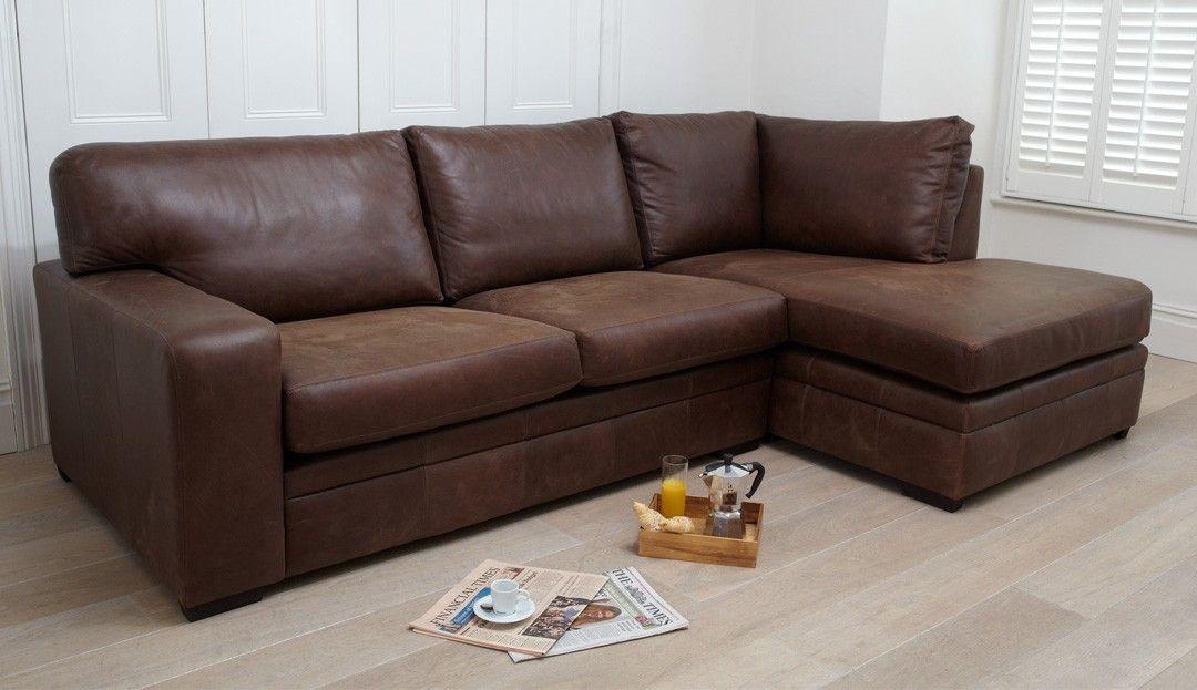 Romeo Corner Sofa From Darlings Of Chelsea Leather Corner Sofa Small Corner Sofa Corner Sofa