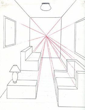 How To Draw A Room Using One Point Perspective How to Draw a Room Using One Point Perspective Drawing Tips perspective drawing