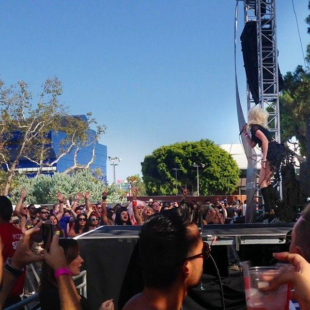 LA Pride Main Stage, Tanya Dahl of Glass Battles