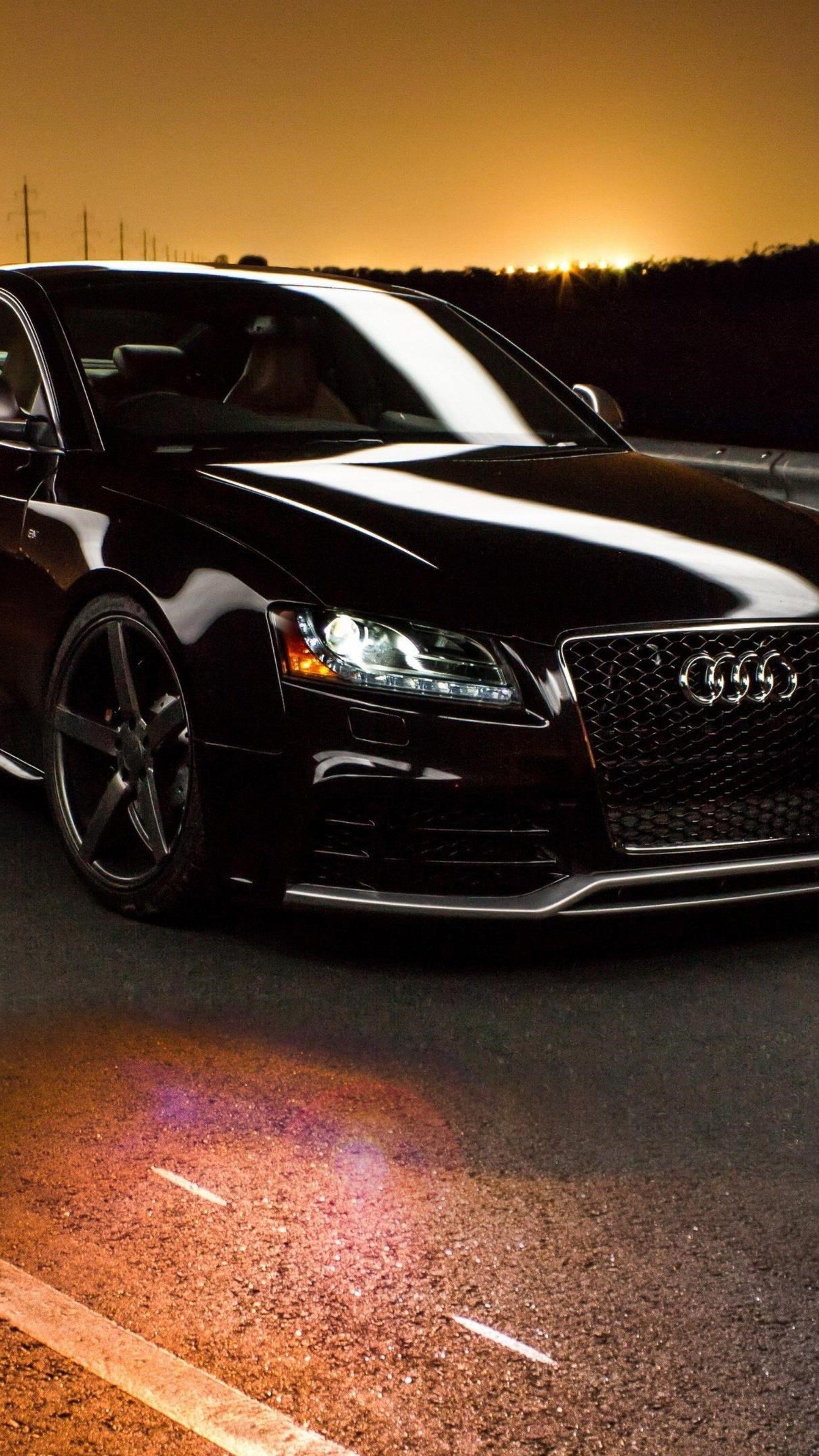 Cars Audi Road Sunset Wallpapers Hd Wallpaper App Qhd