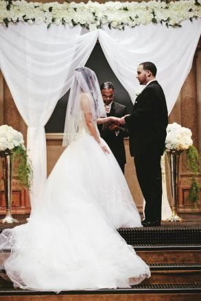 Church Altar Decoration Wedding Arch 150 00 Saying I Do