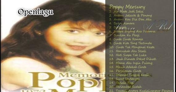Download Kumpulan Lagu Mp3 Poppy Mercury Terpopuler Full Album