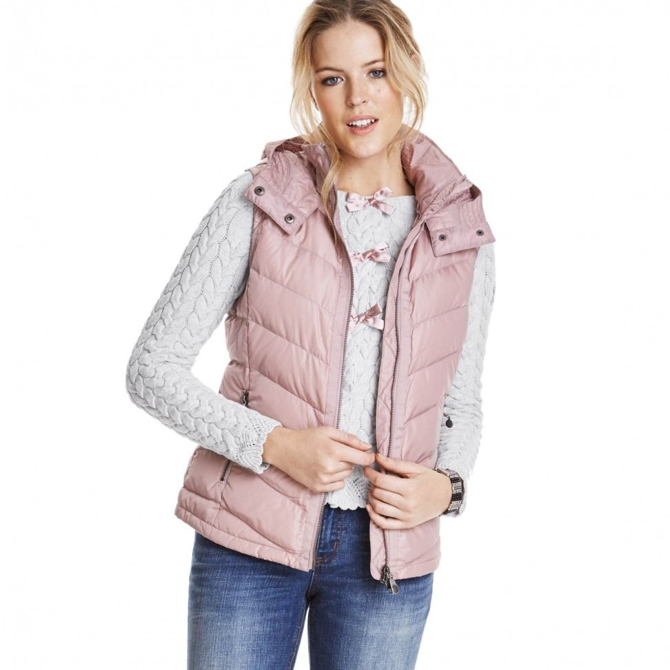 in ´n out vest jacket SOFT FALCON