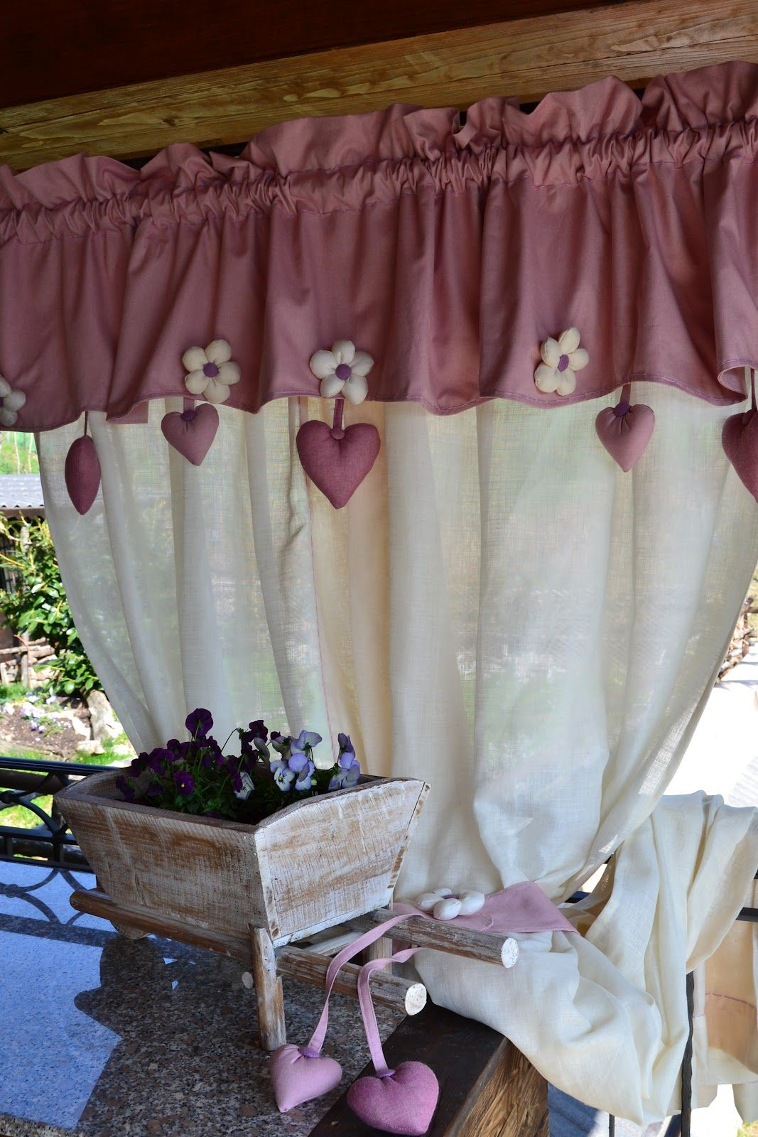 Tende Cucina Shabby Fai Da Te Pin Di Mshmsh Msh Su Shabby Chic Diy Curtains Kitchen Curtains