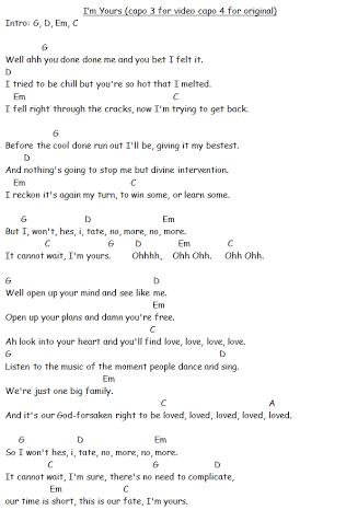Im Yours Guitar Chords Penelusuran Google Simple Guitar Chords