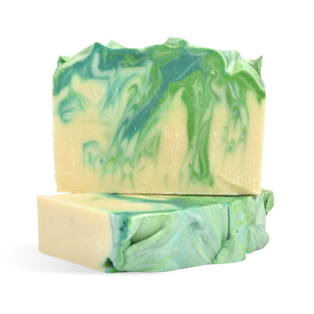 Basil, Sage & Mint Goat Milk CP Soap Recipe | soap - cold