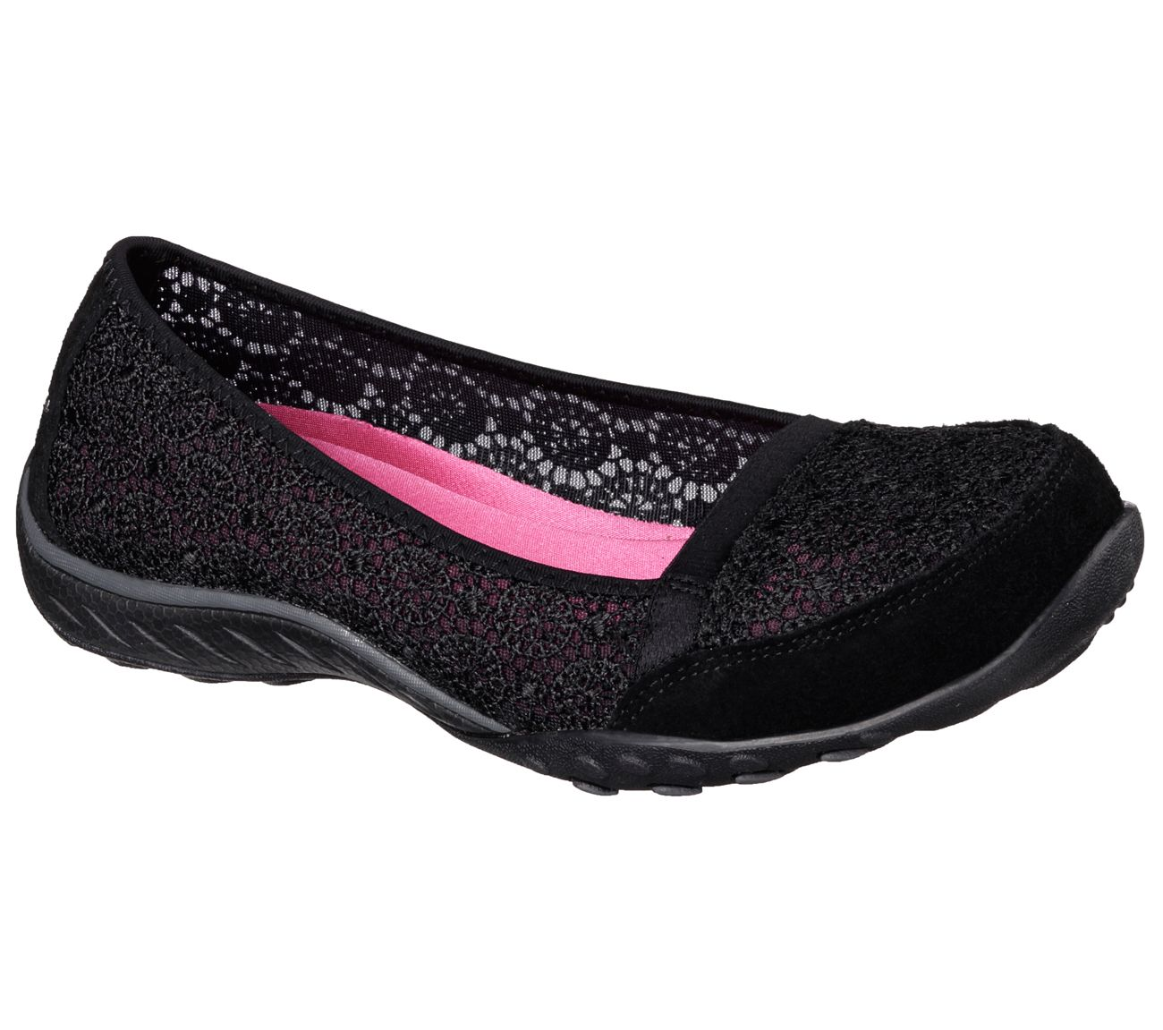 e34abb3b817dd Gorgeous style meets sublime comfort in the SKECHERS Relaxed Fit®  Breathe  Easy - Pretty