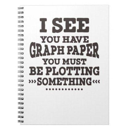 Math Graph Paper Pun Notebook Graph paper and Maths - math graph paper